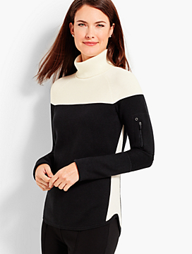 Thermolite(R) Colorblock Turtleneck