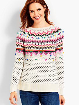 Carnival Fair Isle Sweater