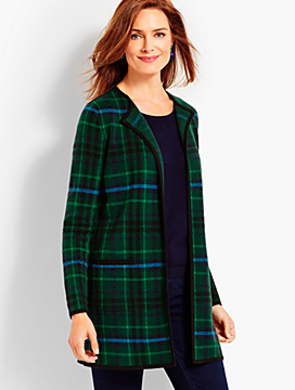 Classic Plaid Topper