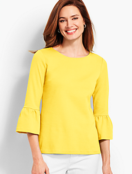 Flare-Sleeve Top