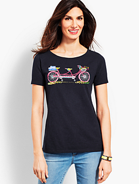 Double Seat Bicycle Tee