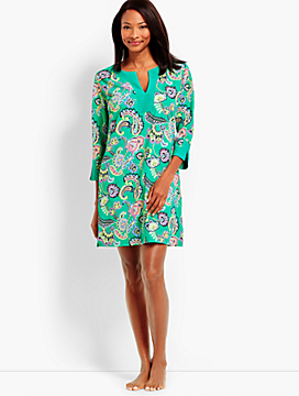 Pop Paisley Swim Tunic