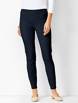 Bi-Stretch Pull-On Skinny Ankle