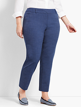 Talbots Hampshire Ankle Pant - Heathered