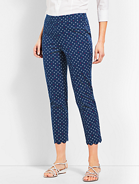 Talbots Chatham Crop - Dot