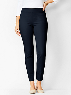 Bi-Stretch Pull-On Skinny Ankle - Curvy Fit