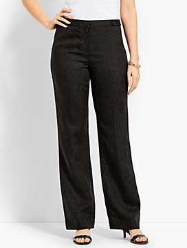 Talbots Windsor Wide-Leg Pant - Curvy Fit