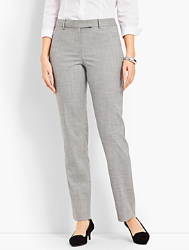 High-Waist Straight-Leg - Curvy Fit/Chambray