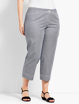 Womans Exclusive Talbots Chelsea Straight-Leg Crop