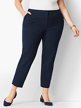 Plus Size Exclusive Talbots Hampshire Ankle Pant - Curvy Fit