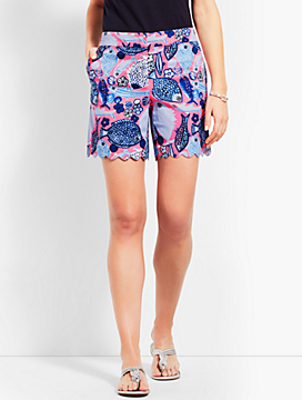 Scallop Short - Multi-Color Print