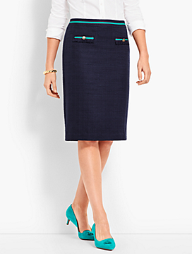 Ribbon Pencil Skirt