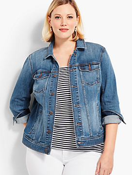 The Classic Denim Jacket-Lowell Wash