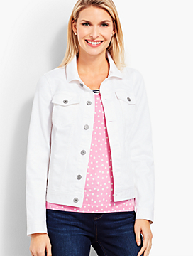The Classic Denim Jacket-Colored