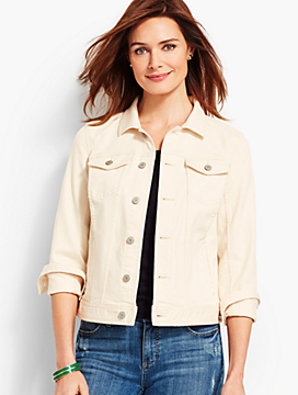 Classis Denim Jacket - Natural