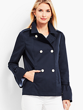 Cotton Peacoat