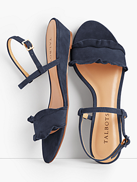 Capri Wedge Sandals