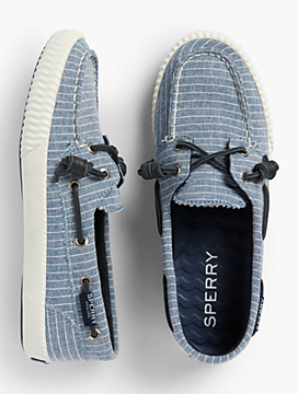 Sperry® Boat Shoes - Pinstripe