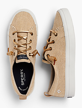 Crest Vibe Sperry® Sneakers - Metallic