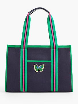 Canvas Erfly Tote