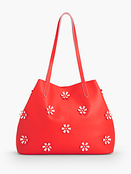 Plano All-Over Flower Tote