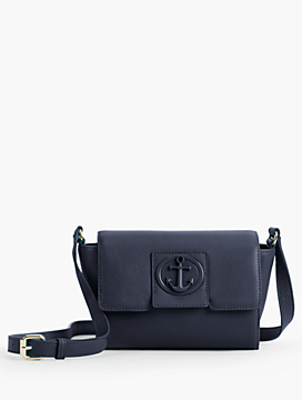 Pebble Leather Crossbody Bag