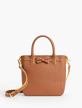 Madison Top-Handle Bow Satchel