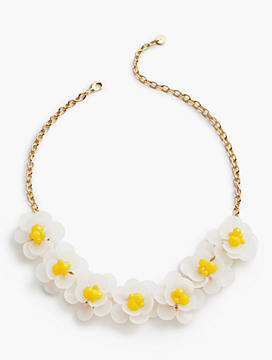 Flowers & Beads Necklace