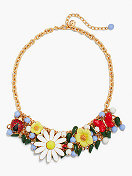 Garden Statement Necklace
