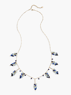 Beaded Clusters Layer Necklace