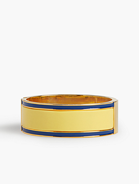 Striped Statement Bangle