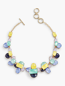 Colorful Faceted Necklace