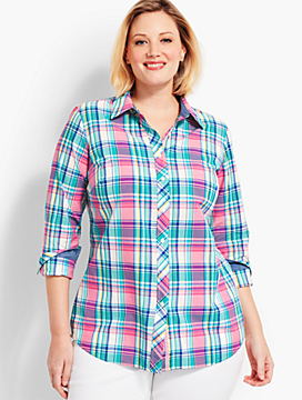 The Classic Casual Shirt - Plaid