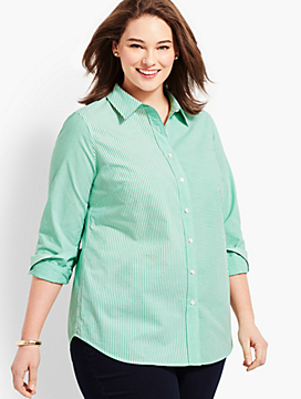 Classic Casual Shirt - Mixed Stipe
