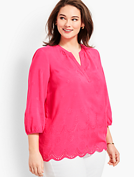 Eyelet Popover - Scalloped Shapes