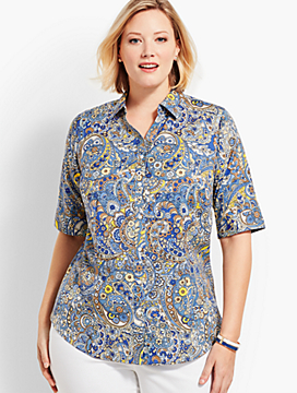 The Perfect Shirt - Paisley