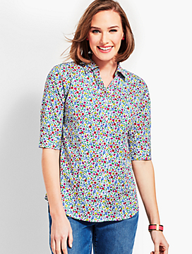 The Perfect Shirt - Prairie Floral