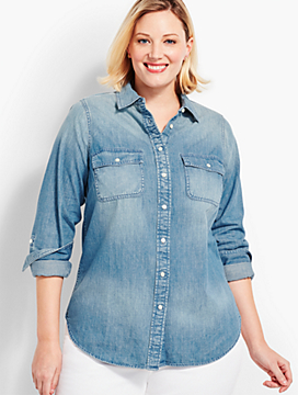 The Classic Denim Shirt - Lochness Wash