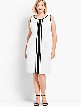 Textured Stripe Sheath