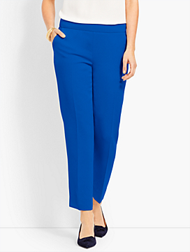 Seasonless Crepe Slim Ankle Pant