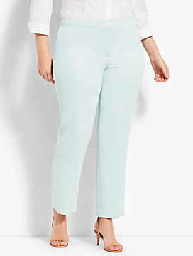 Seasonless Crepe Straight-Leg Pant