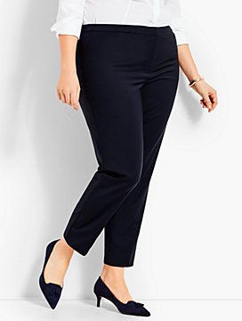 Seasonless Wool Slim Ankle Pant