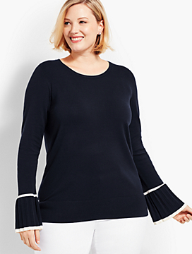 Tipped-Cuff Sweater