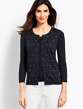 Bobble Dot Cardigan
