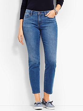 Denim Slim Ankle - Curvy Fit/Easton Wash