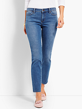 Denim Slim Ankle - Easton Wash