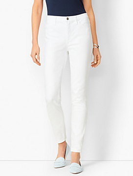 Denim Jegging - White