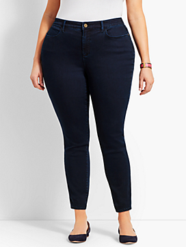 Womans Exclusive Denim Jegging - Curvy Fit/Rinse Wash