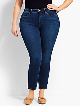 Womans Exclusive Denim Jegging - Curvy Fit/Saratoga Wash