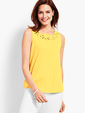 Summer Romance Square-Neck Tank